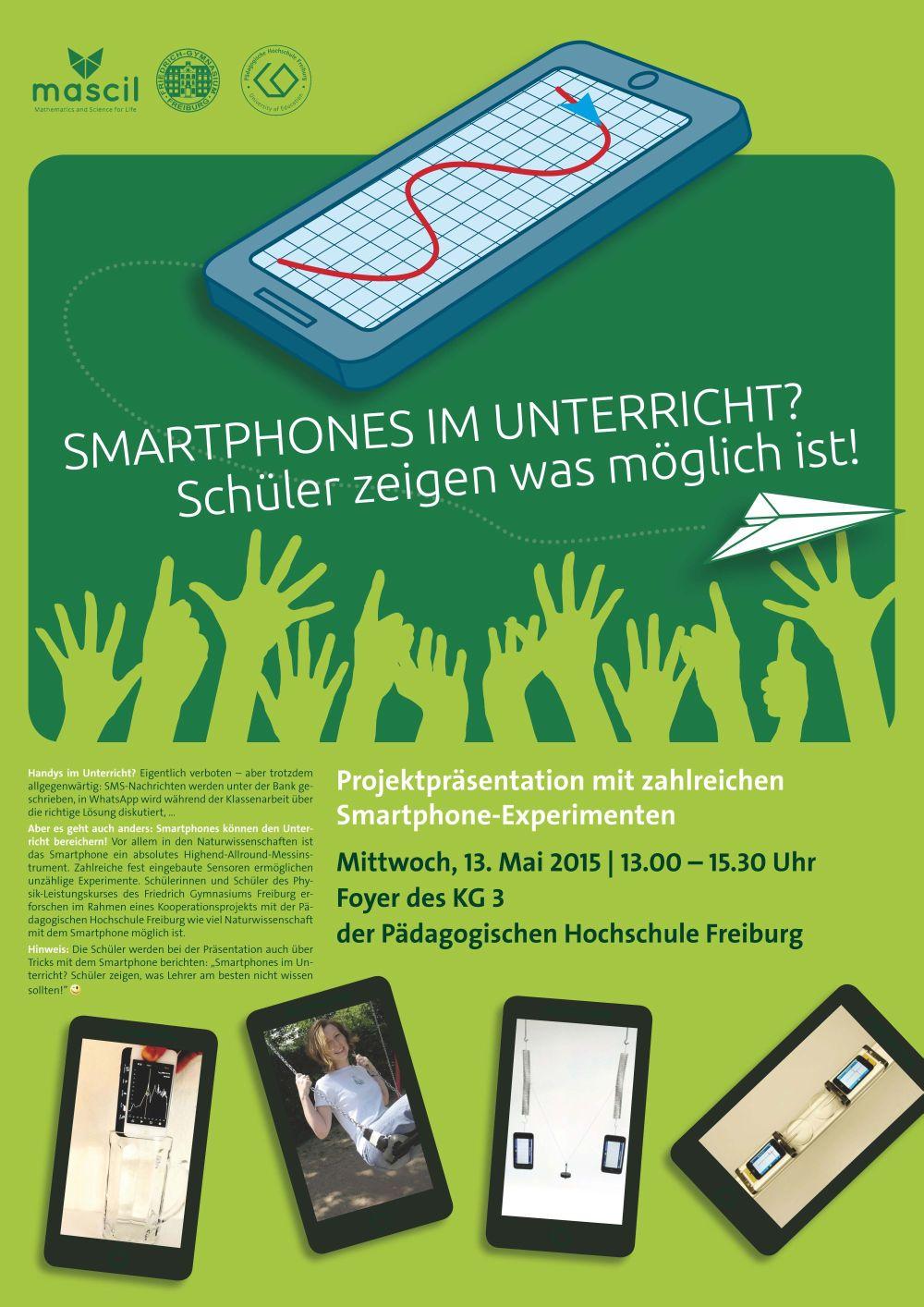 """Projekt: """"Smartphones und Tablets im Unterricht?"""""""