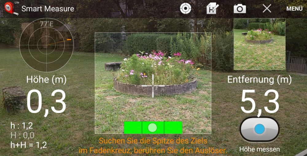 Entfernungsmesser App Für Iphone : Gruppe 4: experimente mit dem ccd sensor kamera mascil ph freiburg